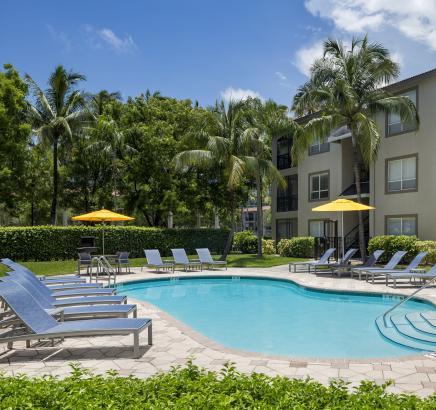 Camden Aventura Apartments North Pool in Aventura, FL