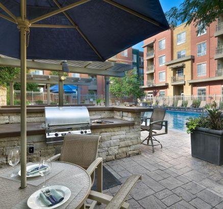 Grills  at Camden Belleview Station Apartments Denver, CO