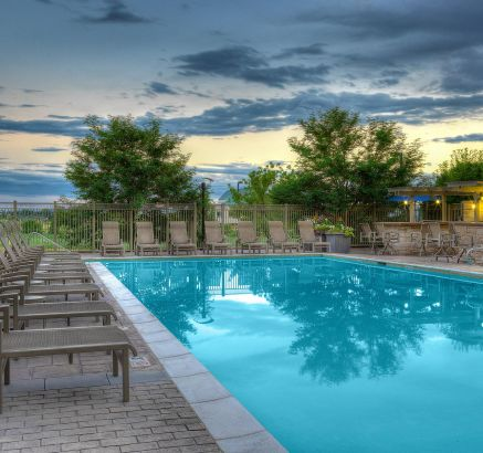 Pool at Camden Belleview Station Apartments Denver, CO