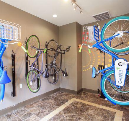Bike Storage at Camden Brushy Creek Apartments in Cedar Park, TX
