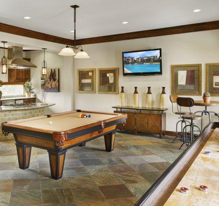 Game Room at Camden Cedar Hills Apartments in Austin, TX