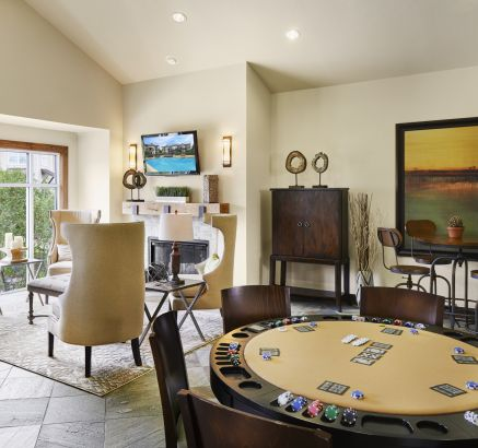 Game Room and Resident Lounge at Camden Cedar Hills Apartments in Austin, TX