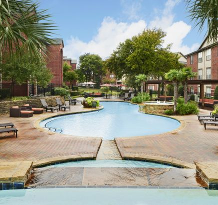 Massive Pool at Camden Centreport Apartments in Fort Worth, TX
