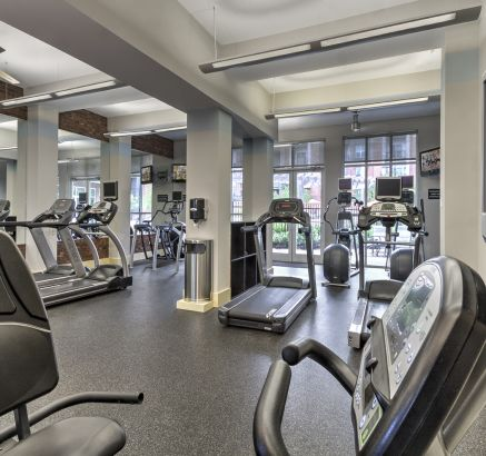 Fitness Center at Camden College Park Apartments in College Park, MD