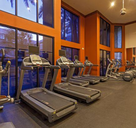Fitness Center at Camden Copper Square Apartments in Phoenix, AZ