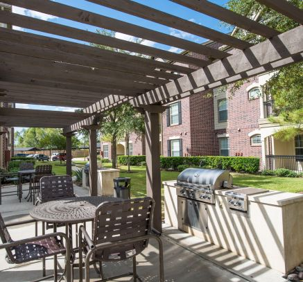 Grill Stations at Camden Cypress Creek Apartments in Houston, TX