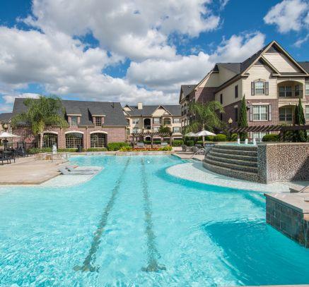 Pool at Camden Cypress Creek Apartments in Houston, TX