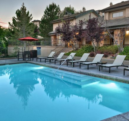 Pool at Camden Denver West Apartments in Golden, CO