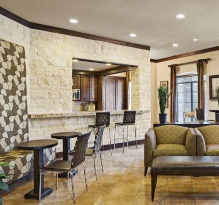 Social Lounge at Camden Downs at Cinco Ranch Apartments in Katy, TX