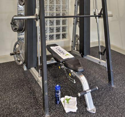Fitness Center at Camden Fairfax Corner Apartments in Fairfax, VA
