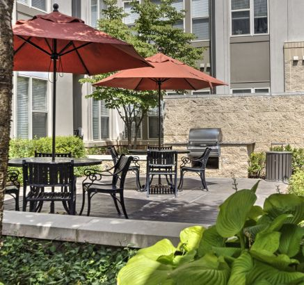 ... Gas Bbq Grills At Camden Fairfax Corner Apartments In Fairfax, VA ...