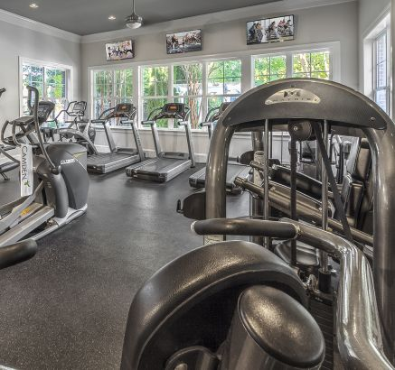 Fitness Center at Camden Fallsgrove Apartments in Rockville, MD