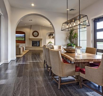 Clubhouse lounge at Camden Foothills apartments in Scottsdale, AZ