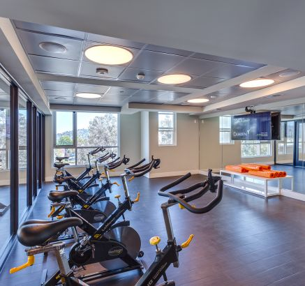 2 Story Fitness center at Camden Glendale Apartments in Glendale, CA