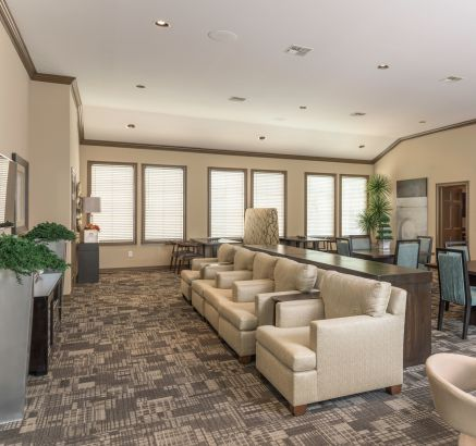 ... Resident Lounge At Camden Greenway Apartments In Houston, TX ...