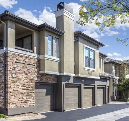Attached Garages at Camden Highlands Ridge in Apartments in Highlands Ranch, CO