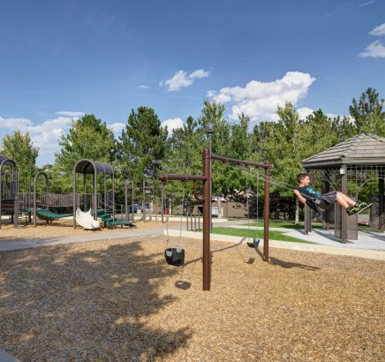 Playground at Camden Highlands Ridge in Apartments in Highlands Ranch, CO