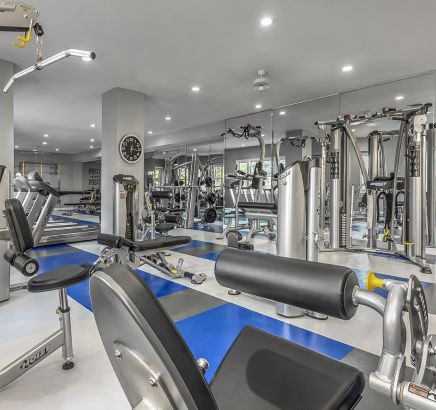 Superb ... Fitness Center With Strength Training Equipment At Camden Lakeway  Apartments In Lakewood, CO ... Gallery