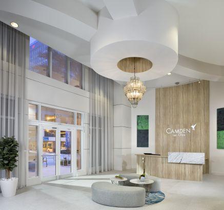 Camden Las Olas Apartments in Downtown Fort Lauderdale, FL concierge