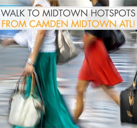 Walkscore for Camden Midtown Atlanta Apartments in Atlanta, GA