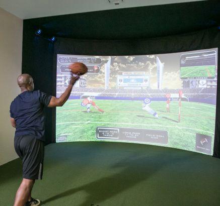 Swing Track Sport Simulator at Camden NoMa Apartments in Washington DC