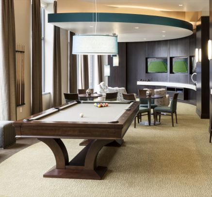 Billiards Lounge at Camden NoMa Apartments in Washington DC