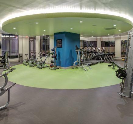 Fitness Center at Camden NoMa Apartments in Washington DC