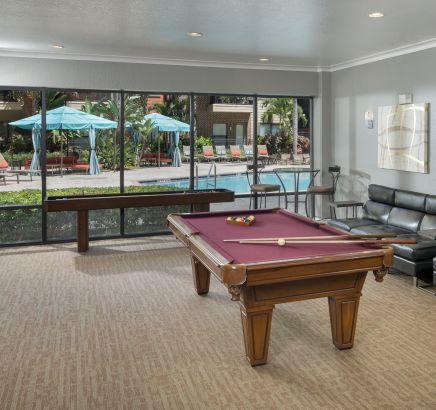 Resident Lounge At Camden Orange Court Apartments In Orlando FL