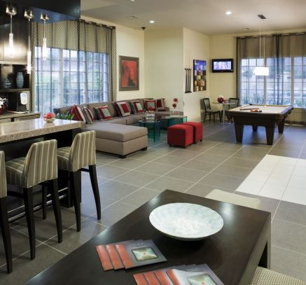 Game Room at Camden Panther Creek Apartments in Frisco, TX