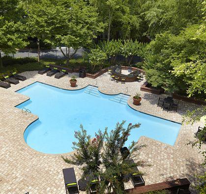 Pool Camden Phipps Apartments Atlanta, GA