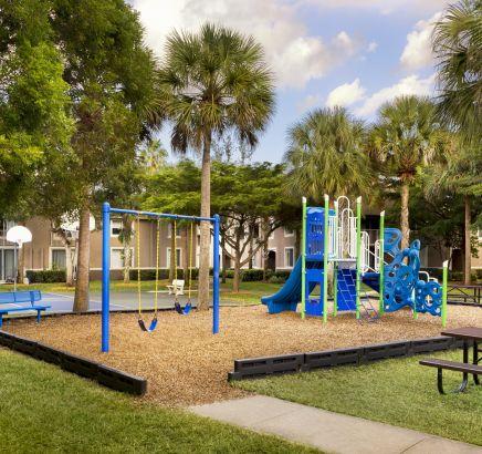 Camden Plantation Apartments in Plantation, FL Playground