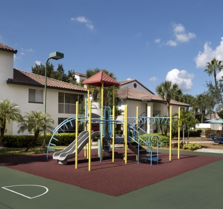 Playground at Camden Portofino Apartments in Pembroke Pines, FL