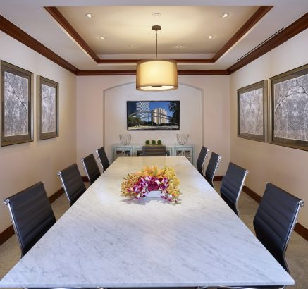 Executive Conference Room at Camden Post Oak Apartments in Houston, TX