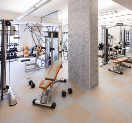 Fitness Center at Camden Post Oak Apartments in Uptown Post Oak Houston, TX