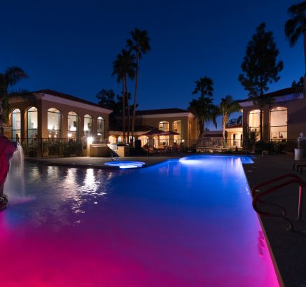 Pool at Camden San Paloma Apartments in Scottsdale, AZ
