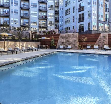 Swimming Pool At Camden Shady Grove Apartments In Rockville, MD ...