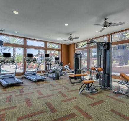 Fitness Center at Camden Sotelo apartments in Tempe, AZ