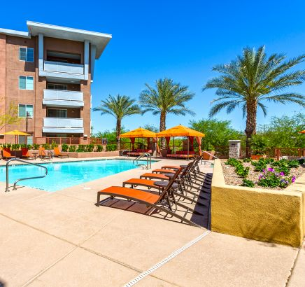 ... Pool At Camden Sotelo Apartments In Tempe, AZ ...
