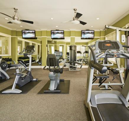 Fitness Center at Camden South Bay Apartments in Corpus Christi, TX