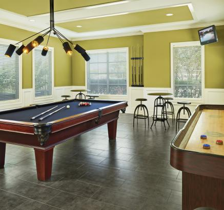 Game Room at Camden South Bay Apartments in Corpus Christi, TX