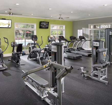 Fitness Center at Camden St. Clair Apartments in Atlanta, GA