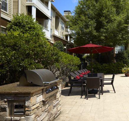 Grill Area at Camden St. Clair Apartments in Atlanta, GA