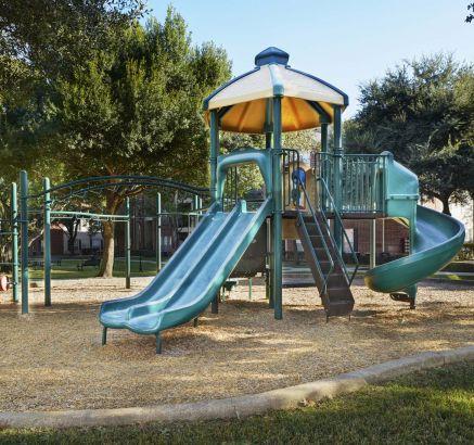 Playground at Camden Sugar Grove Apartments in Stafford, TX