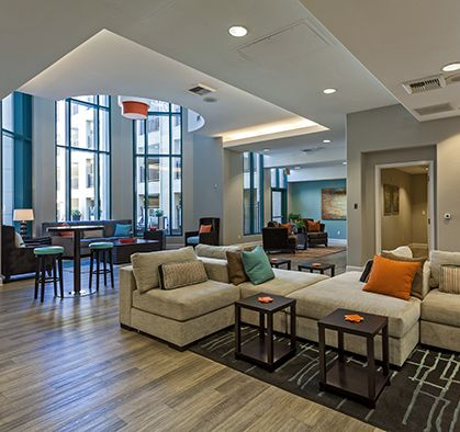 ... Resident Lounge At Camden Tuscany Apartments In San Diego, CA ...