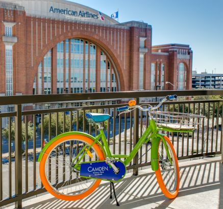 Bike Rental at Camden Victory Park Apartments in Dallas, TX