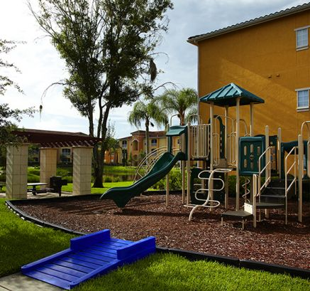Playground at Camden Visconti Luxury Apartments in Brandon, FL