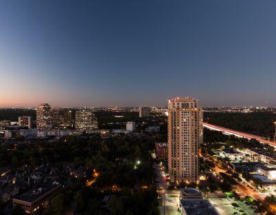 Camden Post Oak Apartments views of Houston, TX