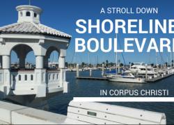 A Stroll Down Shoreline Boulevard in Corpus Christi - gazebo and pier