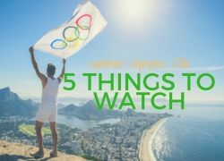 5 things to watch at the Rio 2016 Olympics