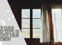 5 Super Quick & Easy Steps to Winterize Your Apartment